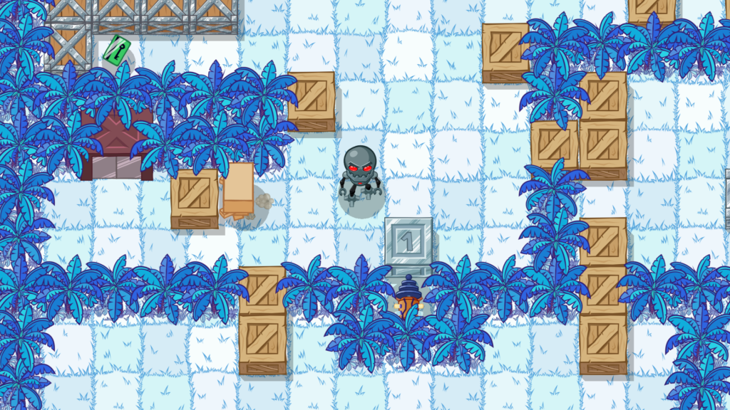 Box Kid Adventures - jungle level